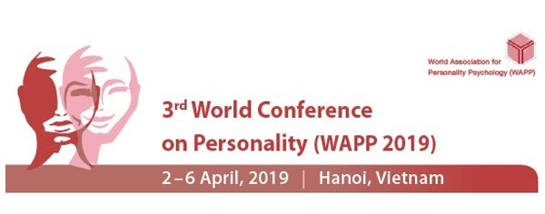 3rd World Conference on Personality
